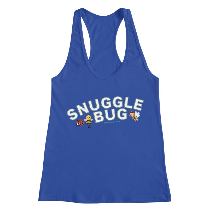 Snuggle Bug Onesie Shirts n More Women's Racerback Tank by Leading Artist Shop
