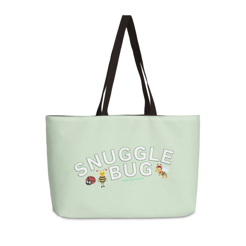 Snuggle Bug Onesie Shirts n More Accessories Bag by Leading Artist Shop