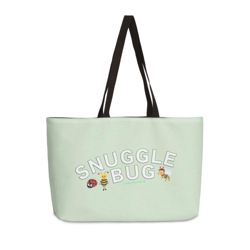 Snuggle Bug Onesie Shirts n More Accessories Weekender Bag Bag by Leading Artist Shop