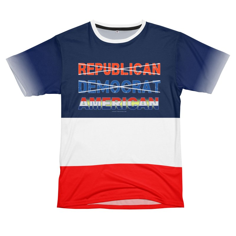 Republican Democrat American Shirts Men's T-Shirt Cut & Sew by Leading Artist Shop