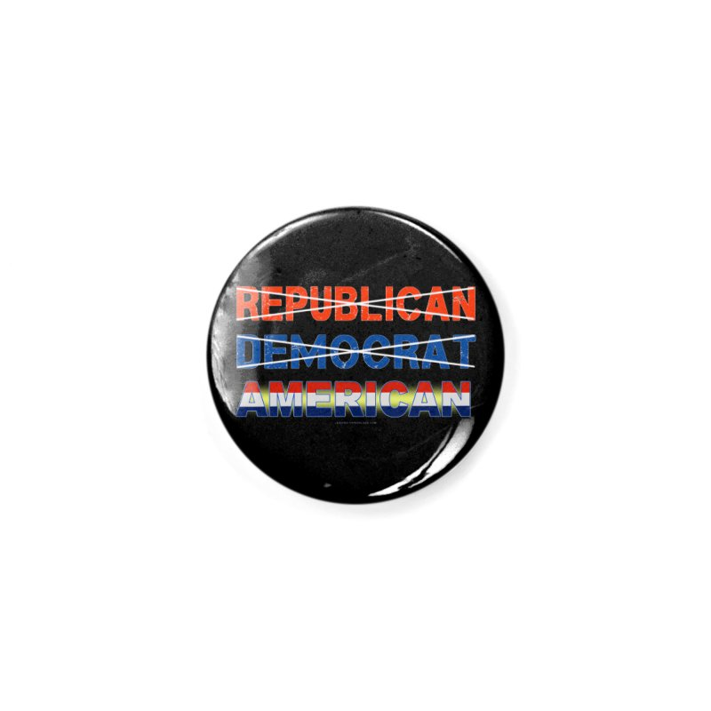 Republican Democrat American Shirts Accessories Button by Leading Artist Shop