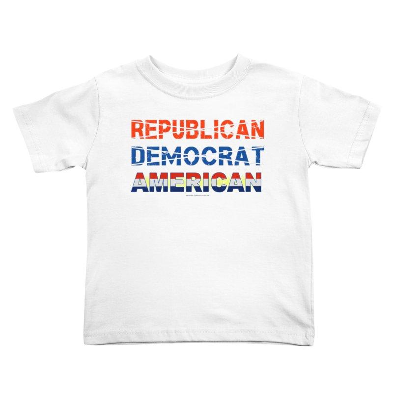Republican Democrat American Shirts Kids Toddler T-Shirt by Leading Artist Shop
