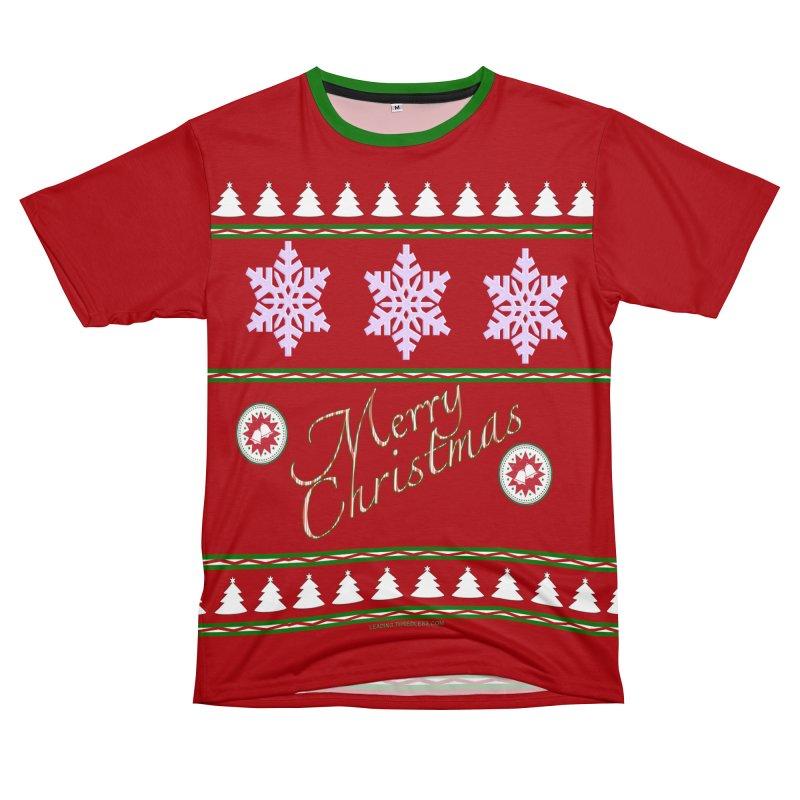 Ugly Christmas Shirts Women's Unisex T-Shirt Cut & Sew by Leading Artist Shop