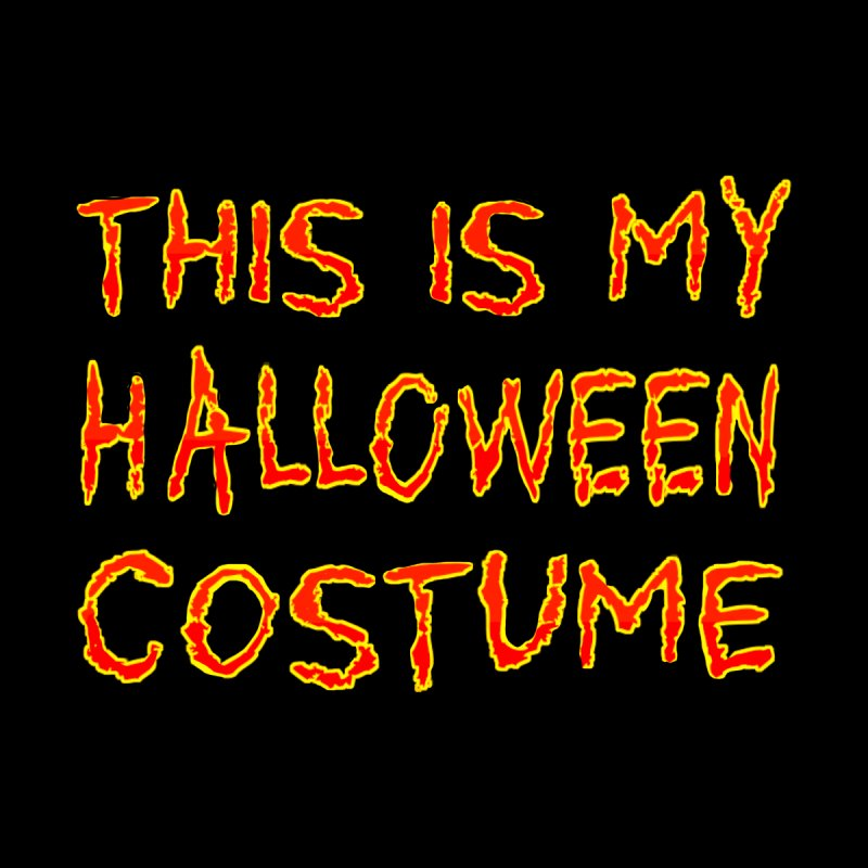 This Is My Halloween Costume Shirt by Leading Artist Shop