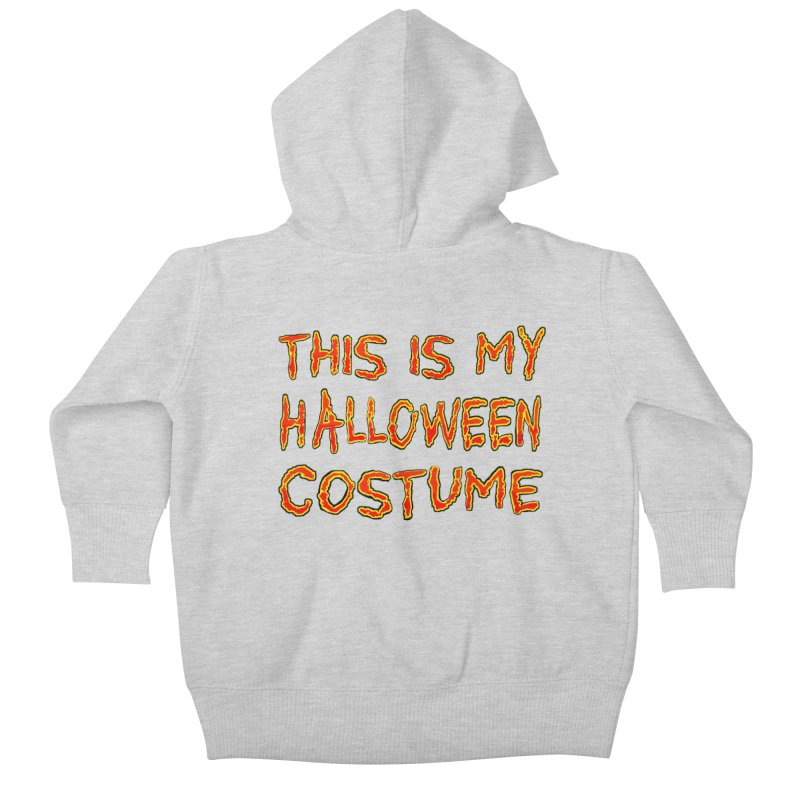 This Is My Halloween Costume Shirt Kids Baby Zip-Up Hoody by Leading Artist Shop