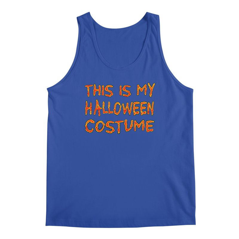 This Is My Halloween Costume Shirt Men's Regular Tank by Leading Artist Shop