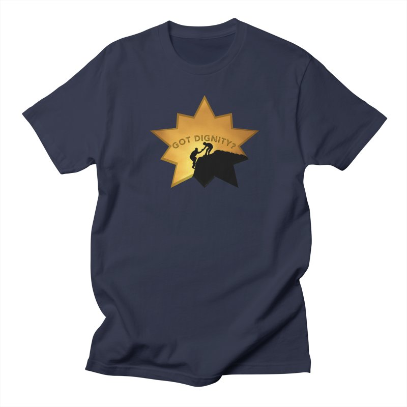 Got Dignity Shirts n More Men's Regular T-Shirt by Leading Artist Shop
