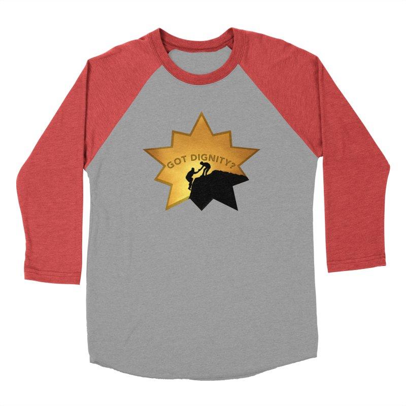 Got Dignity Shirts n More Men's Baseball Triblend Longsleeve T-Shirt by Leading Artist Shop