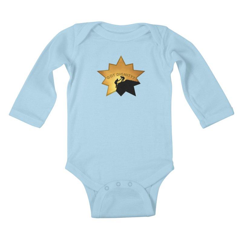 Got Dignity Shirts n More Kids Baby Longsleeve Bodysuit by Leading Artist Shop