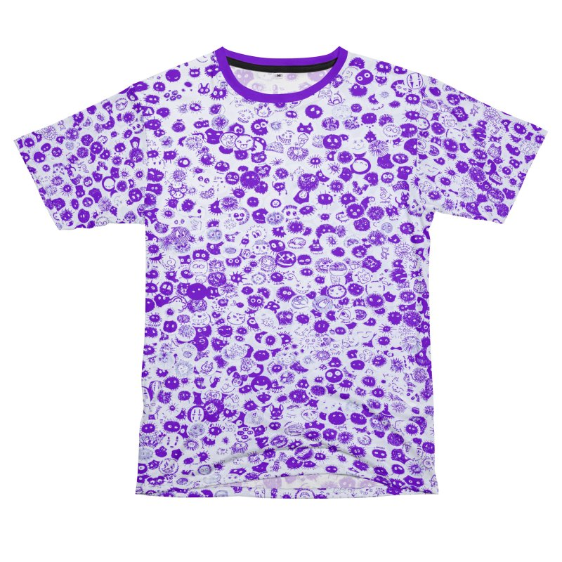 Fluffy Men's T-Shirt Cut & Sew by Leading Artist Shop