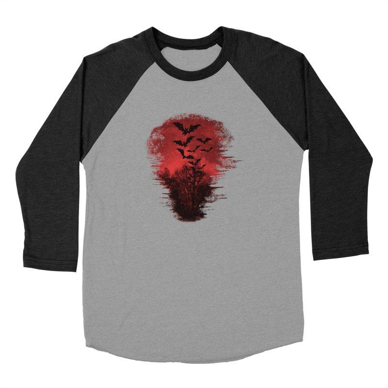 Halloween Bats Men's Baseball Triblend Longsleeve T-Shirt by Leading Artist Shop