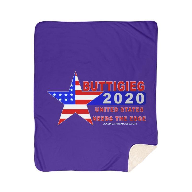 Pete Buttigieg 2020 Home Blanket by Leading Artist Shop
