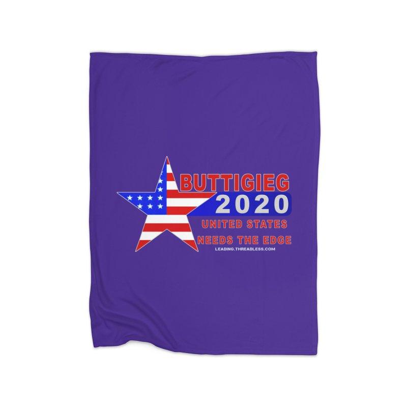 Pete Buttigieg 2020 Home Fleece Blanket Blanket by Leading Artist Shop