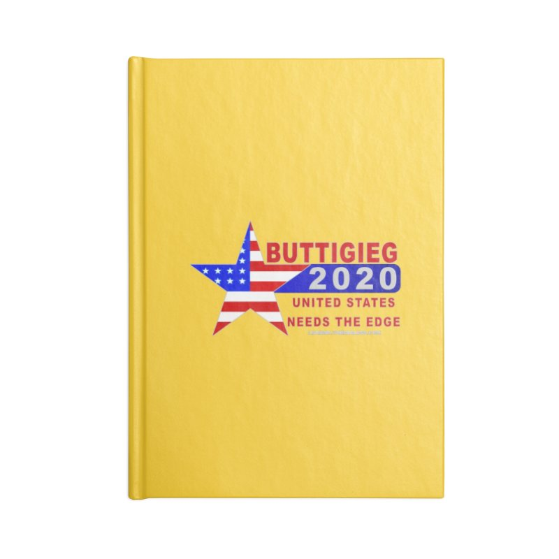 Pete Buttigieg 2020 Accessories Blank Journal Notebook by Leading Artist Shop