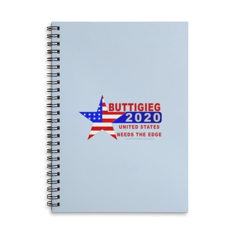Pete Buttigieg 2020 Accessories Lined Spiral Notebook by Leading Artist Shop