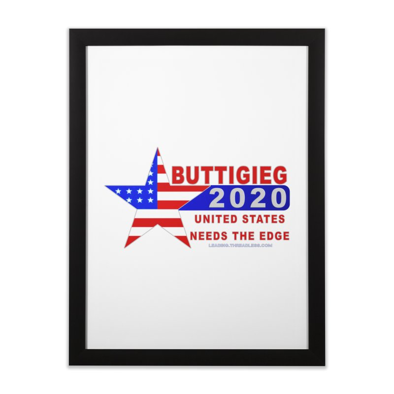 Pete Buttigieg 2020 Home Framed Fine Art Print by Leading Artist Shop