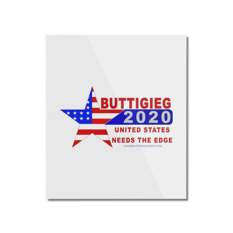 Pete Buttigieg 2020 Home Mounted Acrylic Print by Leading Artist Shop
