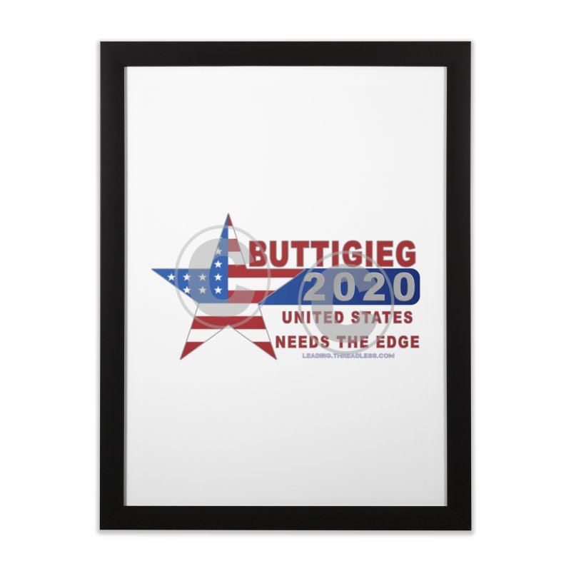 Pete Buttigieg Home Framed Fine Art Print by Leading Artist Shop