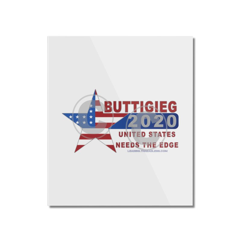 Pete Buttigieg Home Mounted Acrylic Print by Leading Artist Shop