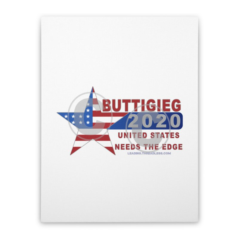 Pete Buttigieg Home Stretched Canvas by Leading Artist Shop