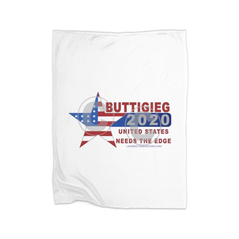 Pete Buttigieg Home Fleece Blanket Blanket by Leading Artist Shop