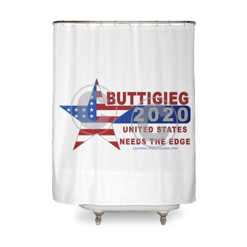 Pete Buttigieg Home Shower Curtain by Leading Artist Shop