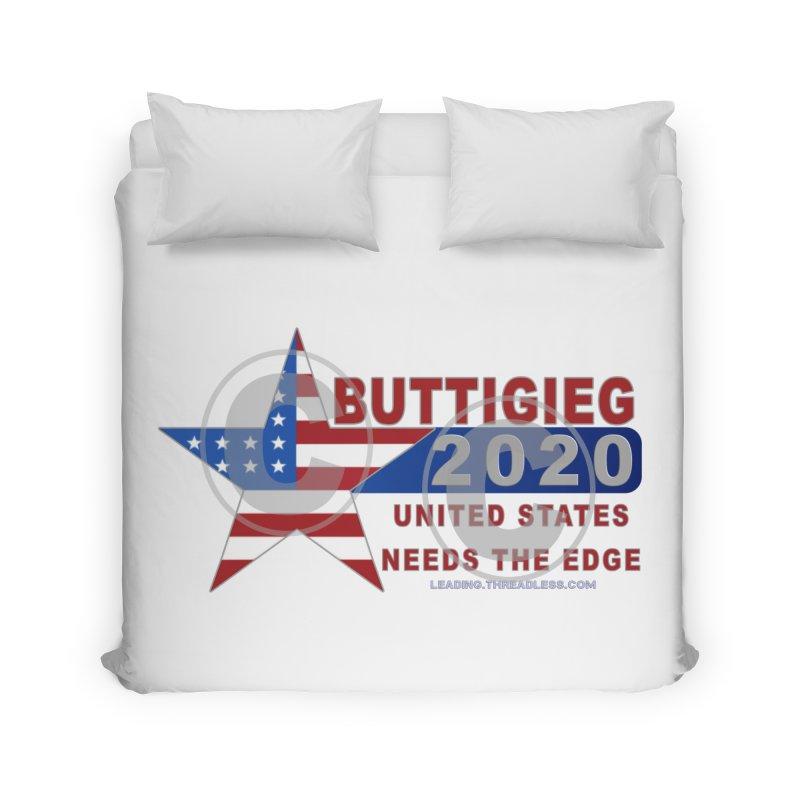 Pete Buttigieg Home Duvet by Leading Artist Shop