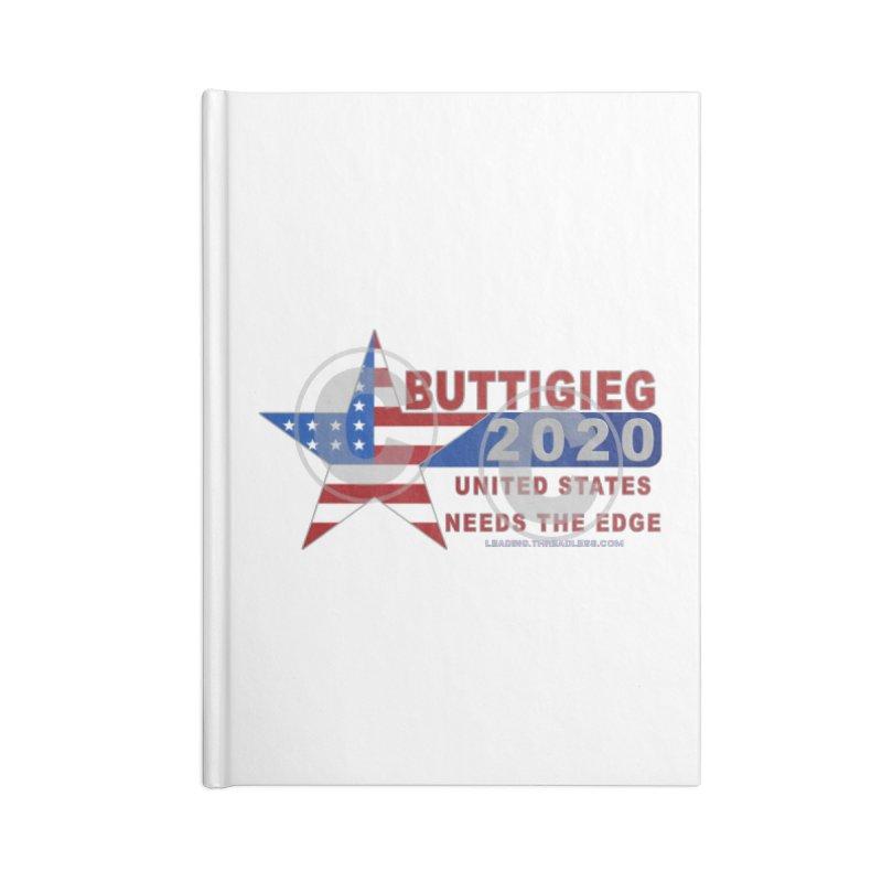 Pete Buttigieg Accessories Lined Journal Notebook by Leading Artist Shop