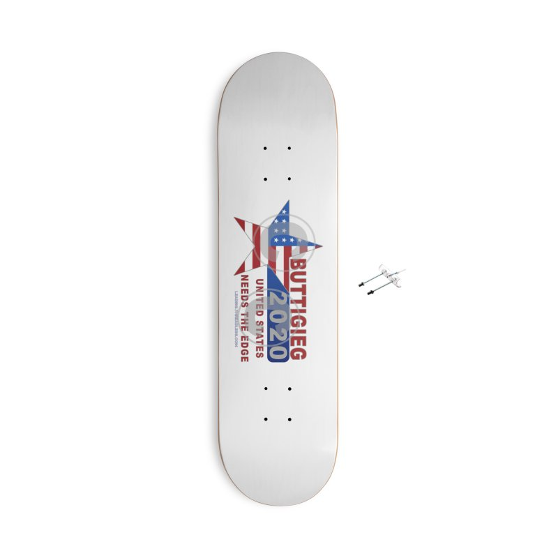Pete Buttigieg Accessories With Hanging Hardware Skateboard by Leading Artist Shop