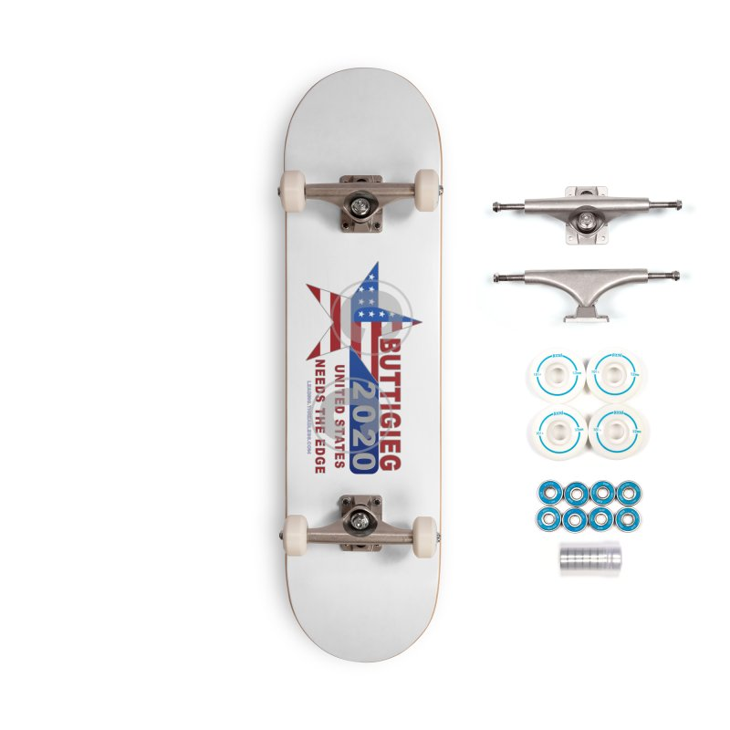Pete Buttigieg Accessories Complete - Basic Skateboard by Leading Artist Shop