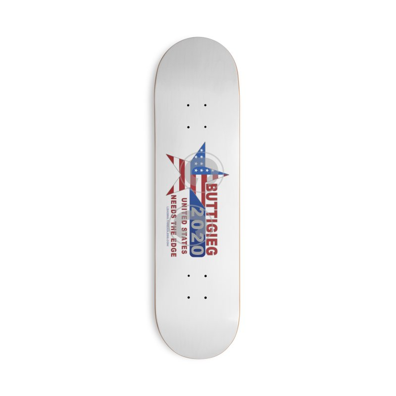 Pete Buttigieg Accessories Deck Only Skateboard by Leading Artist Shop