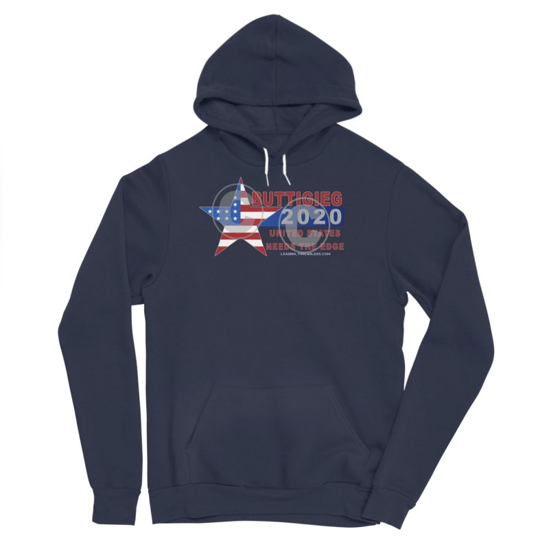Pete Buttigieg Women's Sponge Fleece Pullover Hoody by Leading Artist Shop