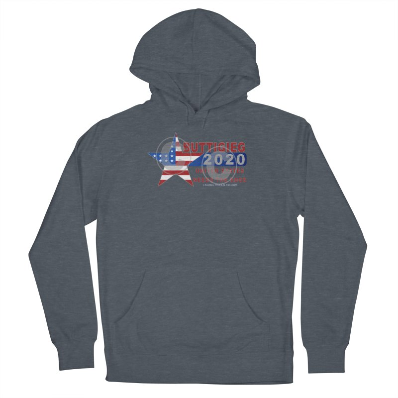 Pete Buttigieg Women's French Terry Pullover Hoody by Leading Artist Shop