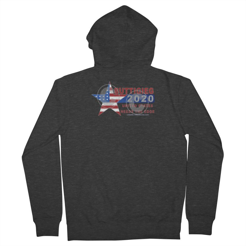 Pete Buttigieg Women's French Terry Zip-Up Hoody by Leading Artist Shop