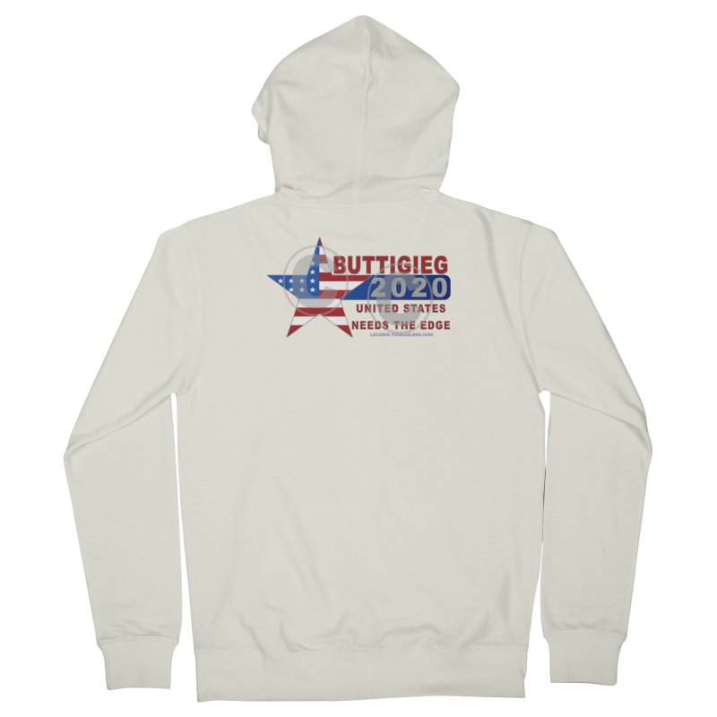 Pete Buttigieg Men's French Terry Zip-Up Hoody by Leading Artist Shop