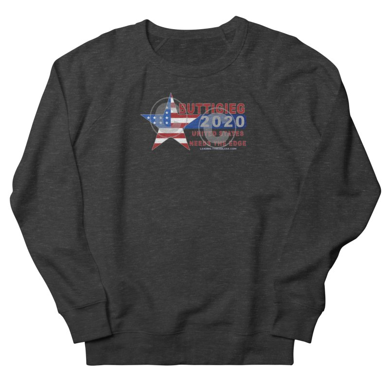 Pete Buttigieg Men's French Terry Sweatshirt by Leading Artist Shop