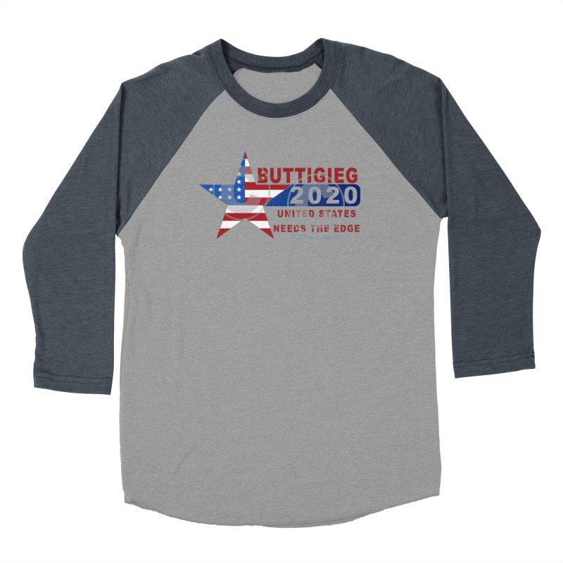 Pete Buttigieg Men's Baseball Triblend Longsleeve T-Shirt by Leading Artist Shop