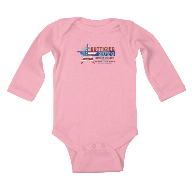 Pete Buttigieg Kids Baby Longsleeve Bodysuit by Leading Artist Shop