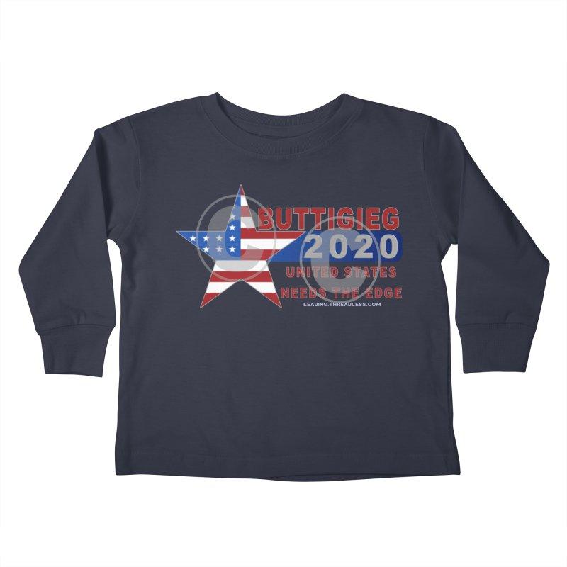Pete Buttigieg Kids Toddler Longsleeve T-Shirt by Leading Artist Shop