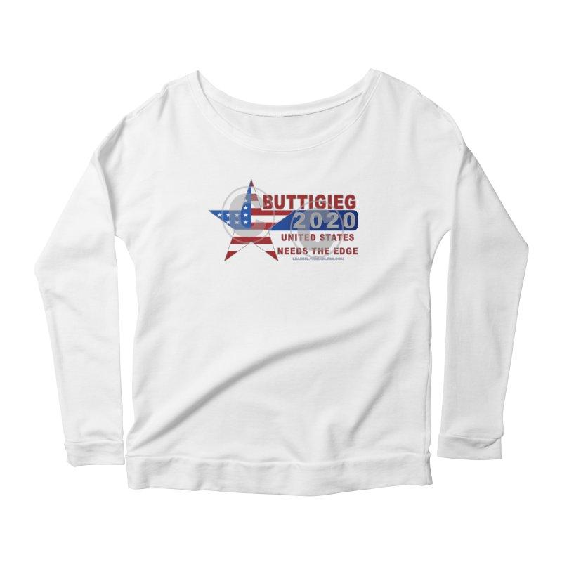 Pete Buttigieg Women's Scoop Neck Longsleeve T-Shirt by Leading Artist Shop