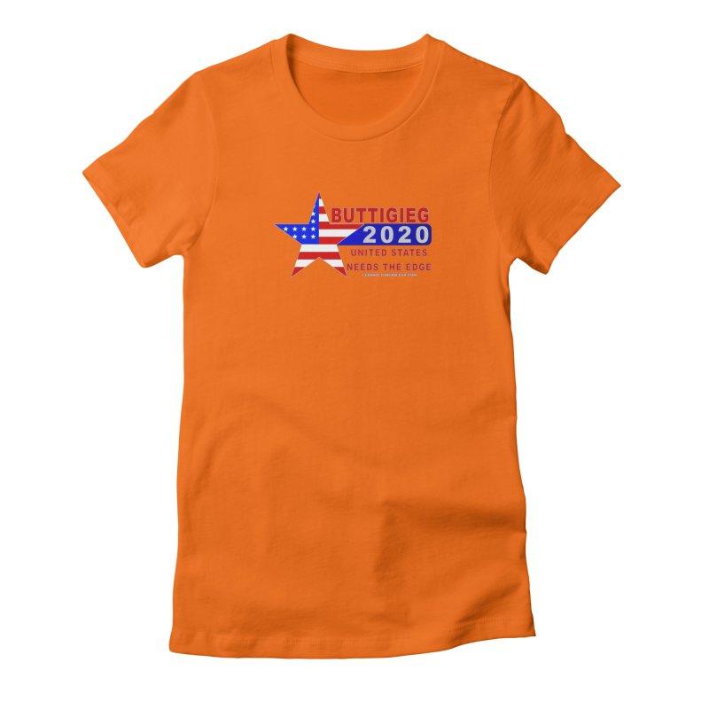 Pete Buttigieg 2020 Women's Fitted T-Shirt by Leading Artist Shop