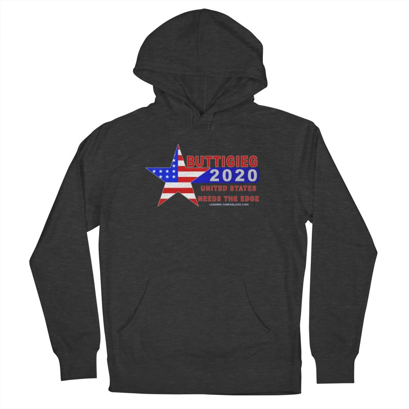 Pete Buttigieg 2020 Women's French Terry Pullover Hoody by Leading Artist Shop