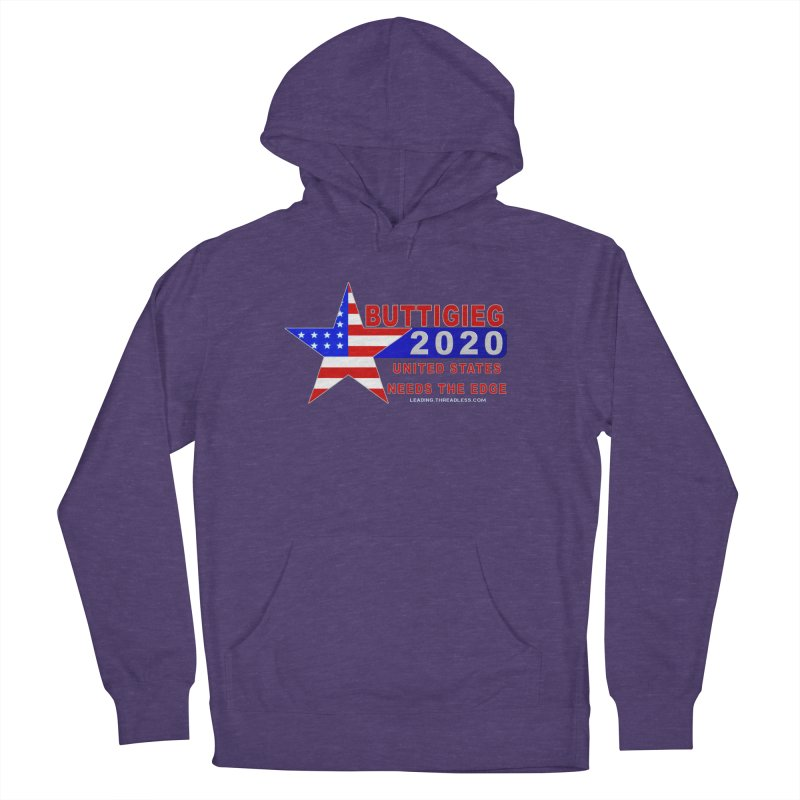 Pete Buttigieg 2020 Men's French Terry Pullover Hoody by Leading Artist Shop