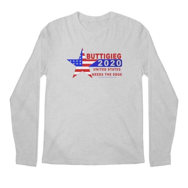 Pete Buttigieg 2020 Men's Regular Longsleeve T-Shirt by Leading Artist Shop