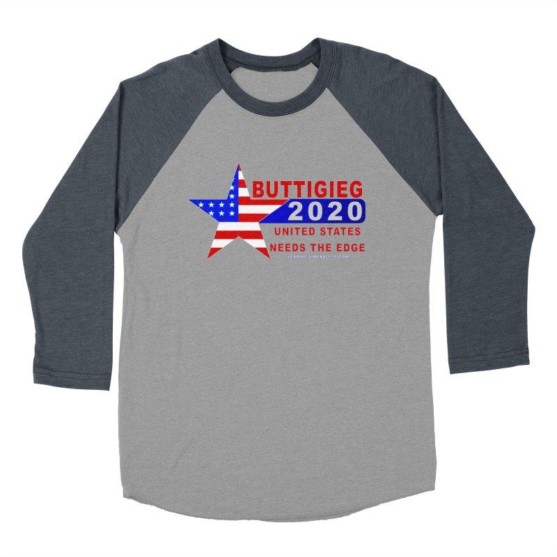Pete Buttigieg 2020 Women's Baseball Triblend Longsleeve T-Shirt by Leading Artist Shop