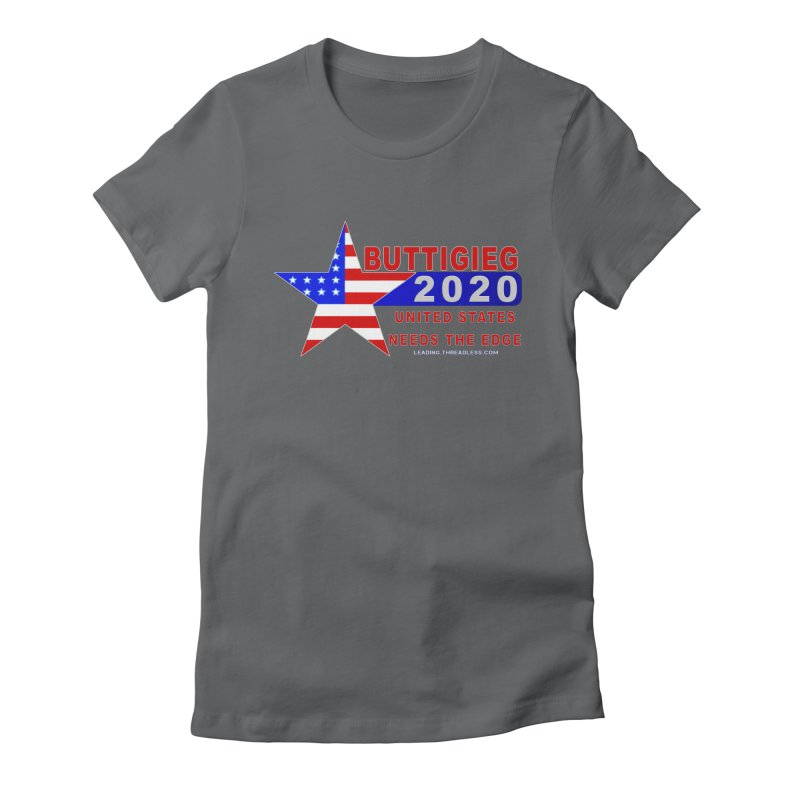 Pete Buttigieg 2020 Women's Fitted T-Shirt by Leading Artist Shop