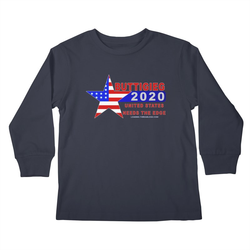 Pete Buttigieg 2020 Kids Longsleeve T-Shirt by Leading Artist Shop