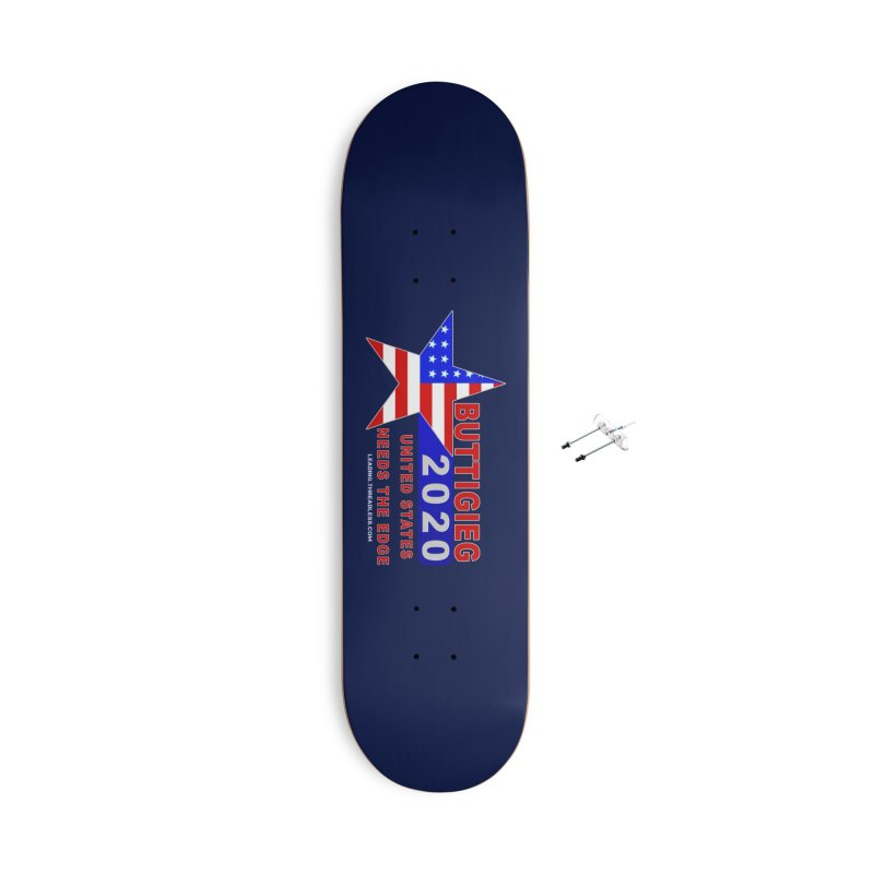 Pete Buttigieg 2020 Accessories With Hanging Hardware Skateboard by Leading Artist Shop