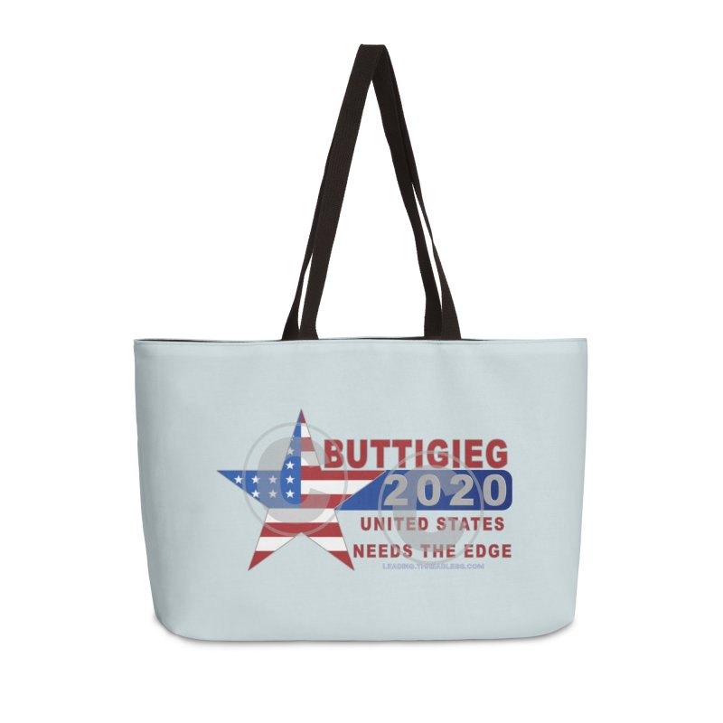 Pete Buttigieg Accessories Weekender Bag Bag by Leading Artist Shop