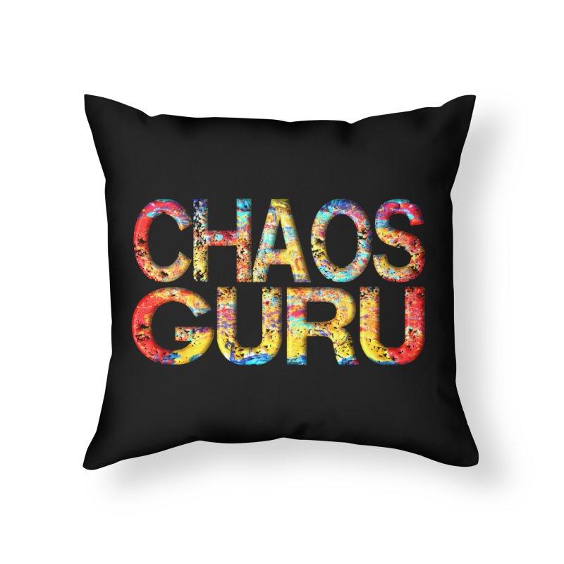 Chaos Guru Home Throw Pillow by Leading Artist Shop